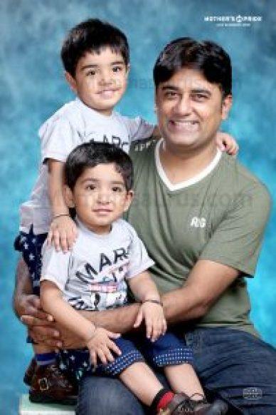 My Husband and Kids my treasure