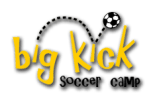 big kick soccer logo