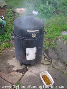 Smoker in action!