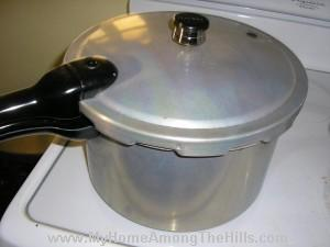Pressure Cooker...not a canner
