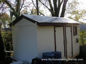 Finished shed!