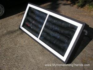 Passive solar furnace
