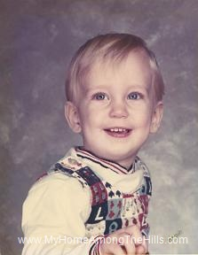 Warren - age 1 or so!