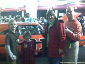 Us with the General Lee