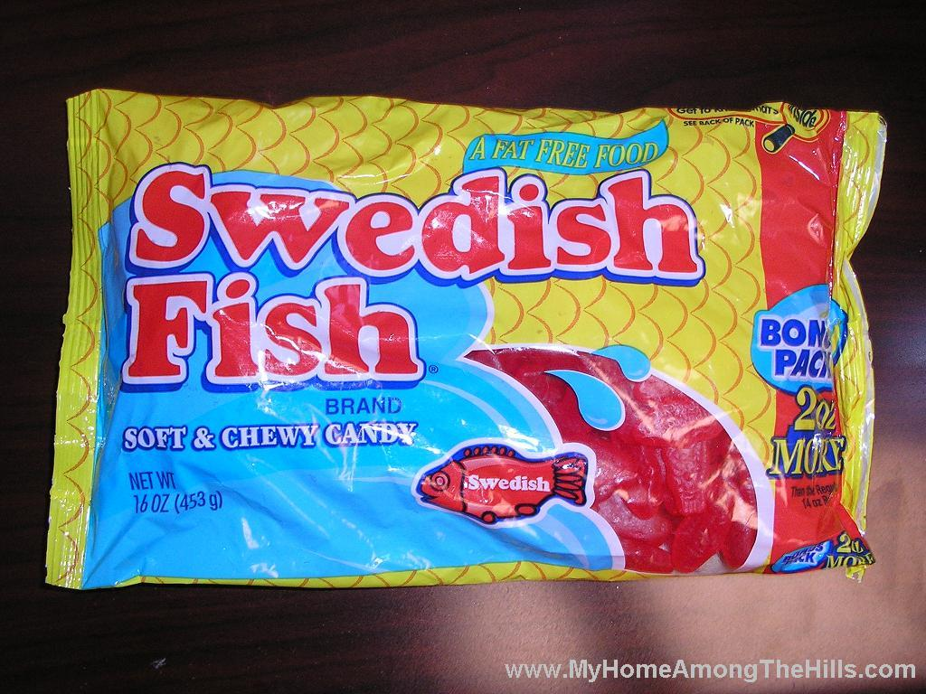 Swedish fish my home among the hills for Swedish fish in sweden