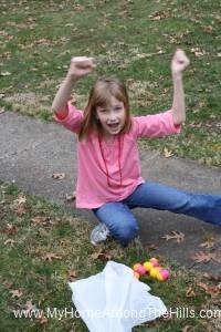 Score!  Easter eggs!