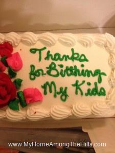 Ice cream cake romance