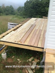 Building the deck