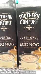 Southern Comfort eggnog is from the gods!