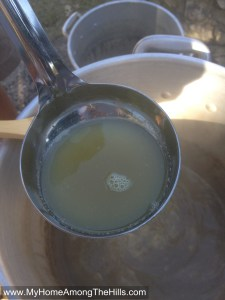 Cooking sorghum syrup