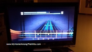 Playing Rocksmith 2014 on new bass