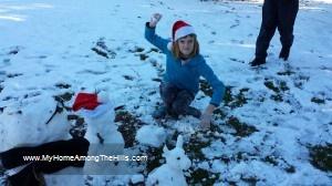 Snowman time!