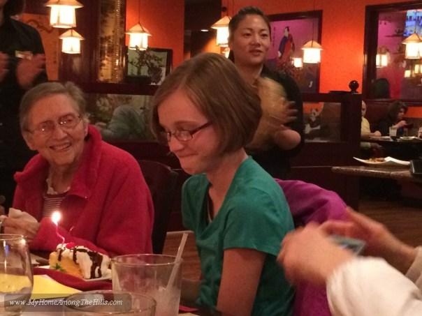 Birthday dinner!