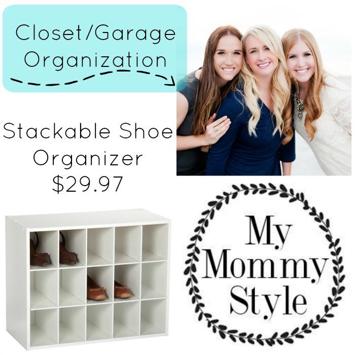 Stackable Shoe Organizer