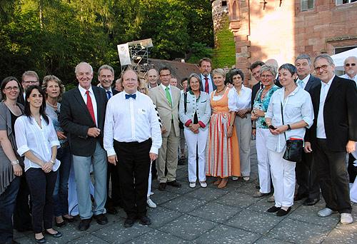Ehrengaeste Schlossfestspiele