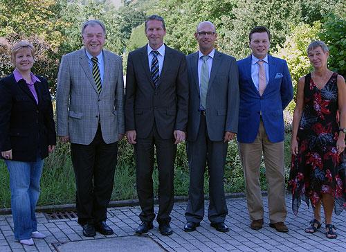 FDP besucht Johannes Diakonie
