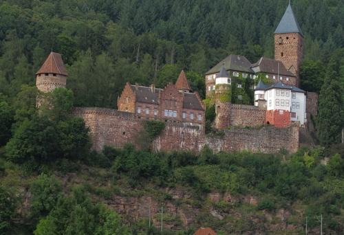 Schloss Zwingenberg weidlich
