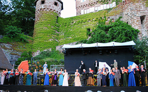 Schlossfestspiele Szene