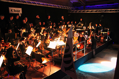 500 Orchester Odysseus Musical Finale in Altheim