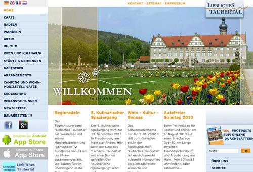 Screenshot Liebliches Taubertal