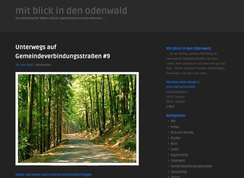 KP mit blick in den odenwald