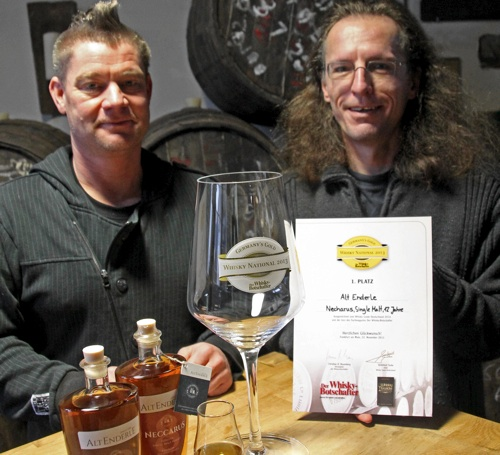 Bester deutscher Whisky aus Sindolsheim