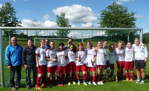 B Juniorinnen Landesligameister