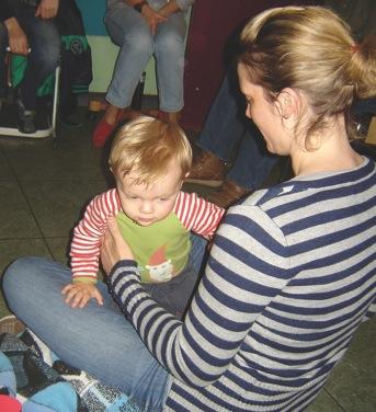 Babywatching an der Schwarzbach Schule