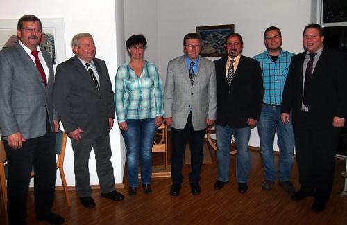 500 Ortsvorsteher Waldbrunn mit BM Haas