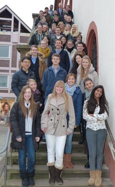 DHBW Auslandsstudenten 2015