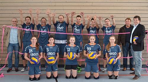 500 TV Mosbach Volleyball Mannschaftsbild