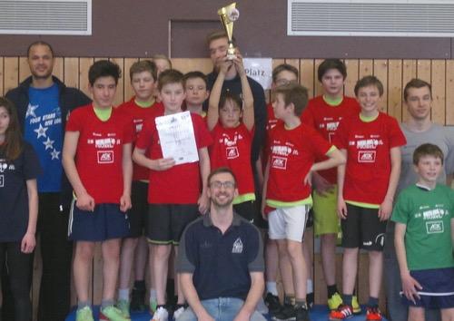Basketballturnier Boxberg Siegerteam GMS Adelsheim neu