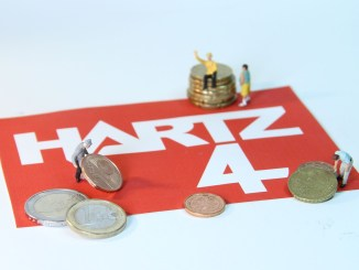 Hartz Poverty Miniature Figures