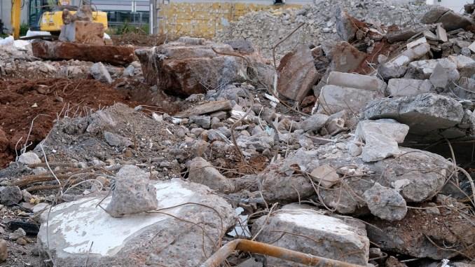 Construction Building Rubble Debris