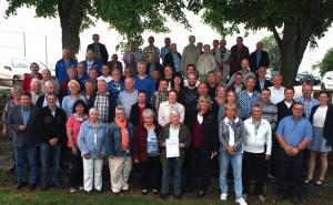 Die geehrten Vereinsmitglieder. (Foto: Hofherr)