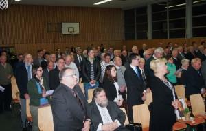 Festgäste 70 Jahre CDU Neckar-Odenwald-Kreis. (Foto: NOKZEIT)