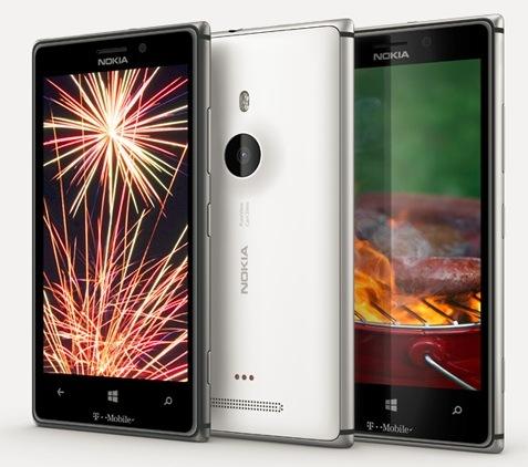 Lumia 925 trio