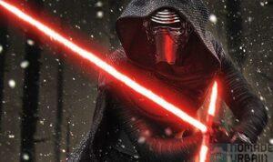 Kylo Ren sabre laser Fx Deluxe Star Wars 7 4