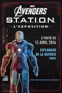 AVENGERS STATION PARIS