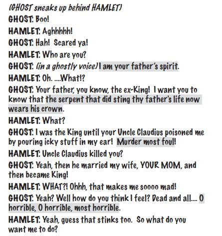 hamlet for kids script sample 2
