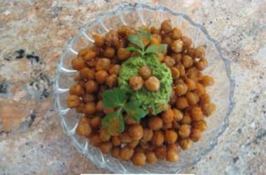 Crunchy Garbanzo Beans  (Chickpeas)