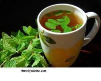 Minty Green Tea