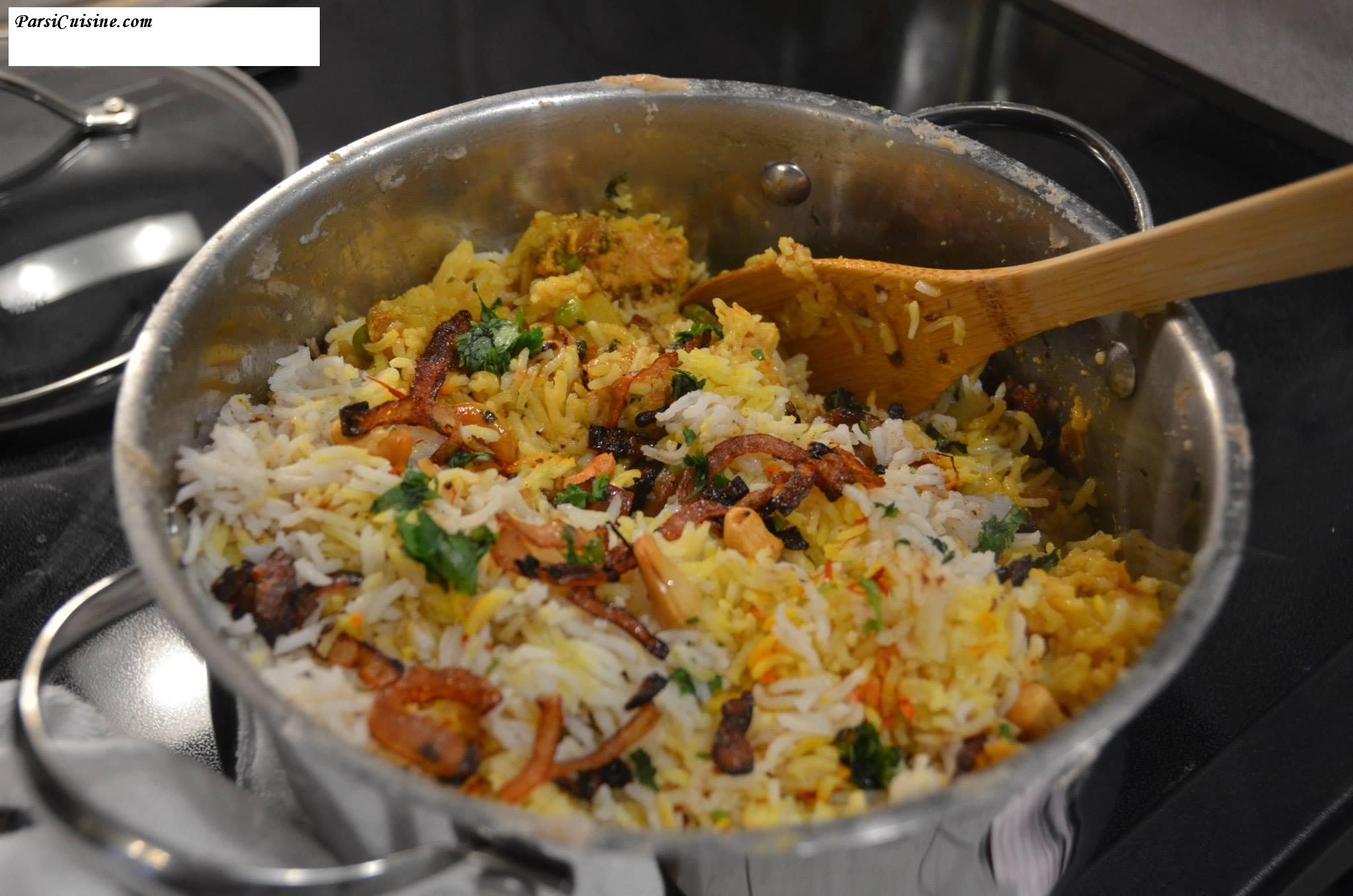 Chicken/Mutton Biryani