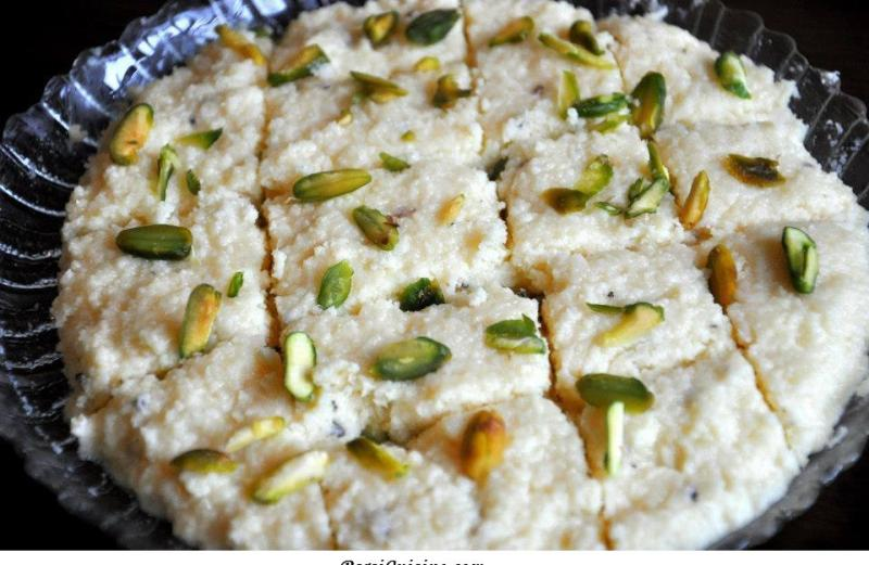 Mava Kalakand Halvo (from cookbook)