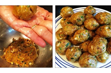 Khurshid Mehta: Turkey Kebabs (little meatballs)