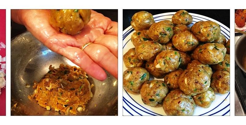Khurshid Mehta: Turkey Kebabs (little meatballs)