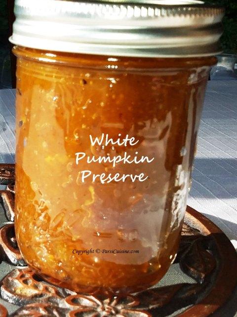 White Pumpkin Preserve
