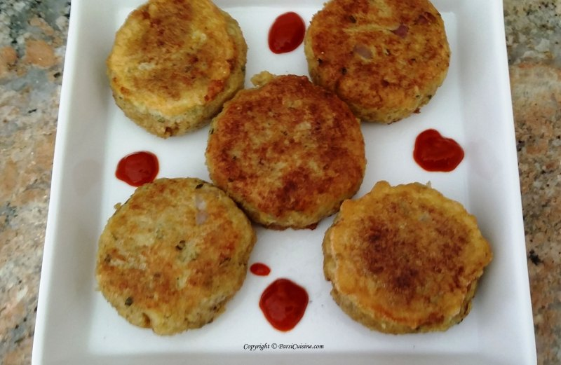 Chicken Cutlets Parsi Style