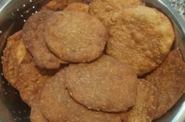 Udvada's Sweet and Crispy Parsi Puri – Tal Papra Recipe