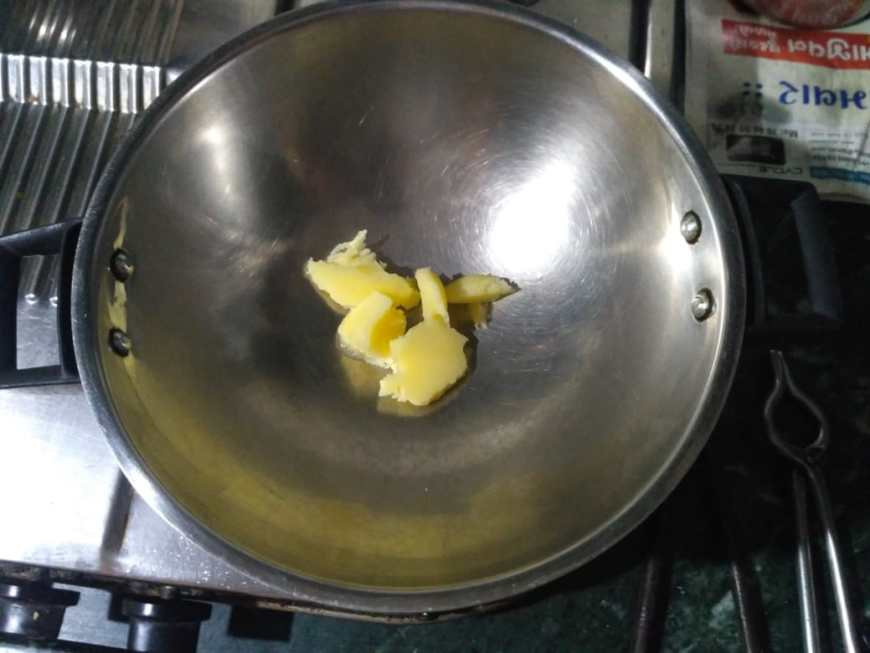 1. Heat Ghee in Pot